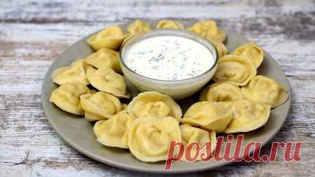 Домашние пельмени по-сибирски с квашеной капустой и салом. | Ох и вкусно | Яндекс Дзен