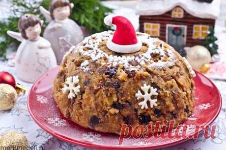 Рецепт рождественского пудинга | Меню недели