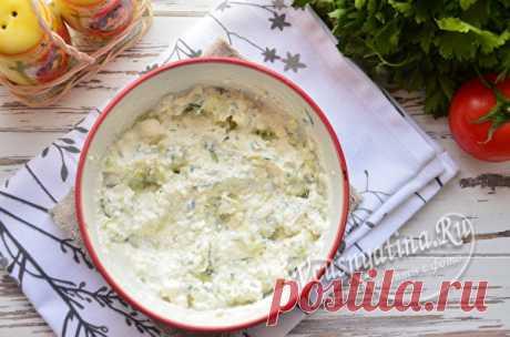 Огуречный соус с чесноком и сметаной: рецепт с фото, вместо майонеза