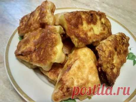 Хрустящие «Пирожки без теста» из капустного листа