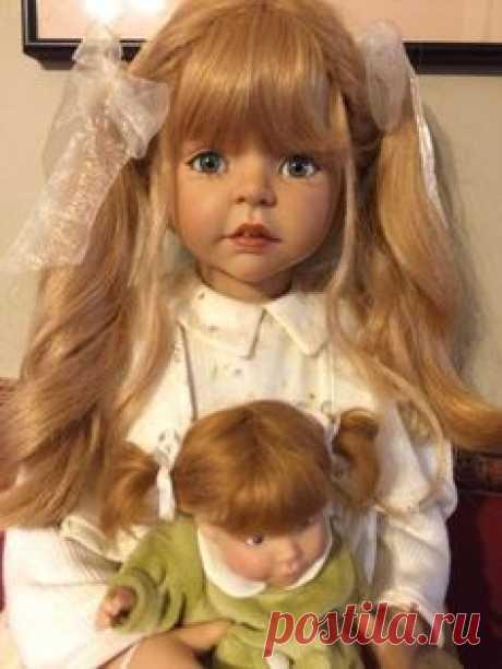 Кукла Готц - Шутка Гроббен - Мария и Поппетье