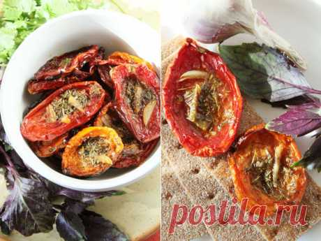 Простой способ приготовления вяленых томатов в домашних условиях — Готовим дома
