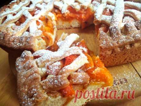 Простейший и очень вкусный абрикосовый пирог. | Рецепты от Светланы Печенкиной | Яндекс Дзен