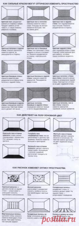 Как увеличить комнату зрительно