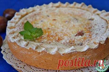 Сливовый пирог со сметанной заливкой Кулинарный рецепт