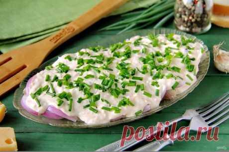 Сельдь в сырном соусе - пошаговый рецепт с фото на Повар.ру