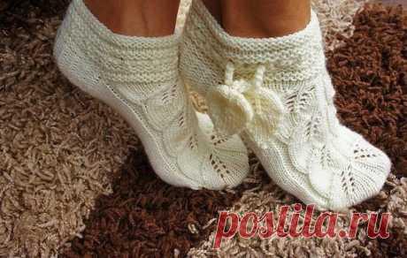 Восхитительные короткие носочки — Сделай сам, идеи для творчества - DIY Ideas