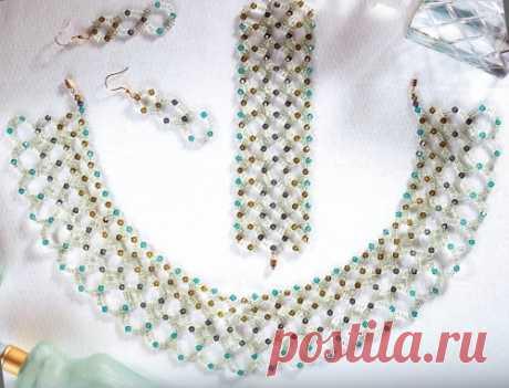 Амазония Браслеты из бисера, Колье, бусы, ожерелья из бисера, Серьги из бисера – Бисерок