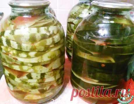 Маринованные арбузы – кулинарный рецепт