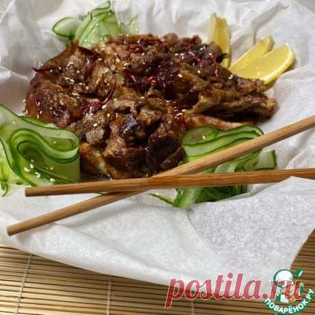 Рулька в китайском стиле Кулинарный рецепт