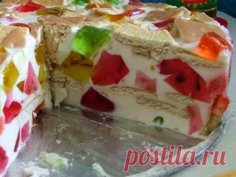 Торт из печенек без выпечки: ингредиенты, порядок приготовления с фото . Милая Я