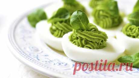 Фаршируем яйца, как профи: 5 вкусных начинок, которые вы полюбите — Страница 2 — ✔️ Копилка моих идей!