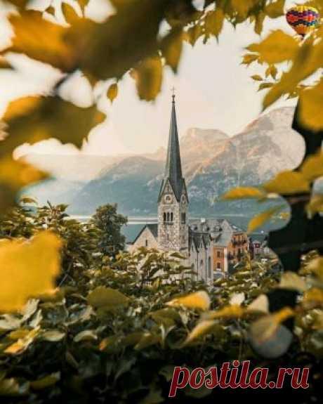 Осенний замок.