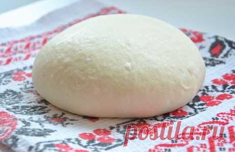 Пшеничное дрожжевое тесто от Ришара Бертине рецепт от Тарелкиной. Это самое простое хлебное тесто из всех существующих.