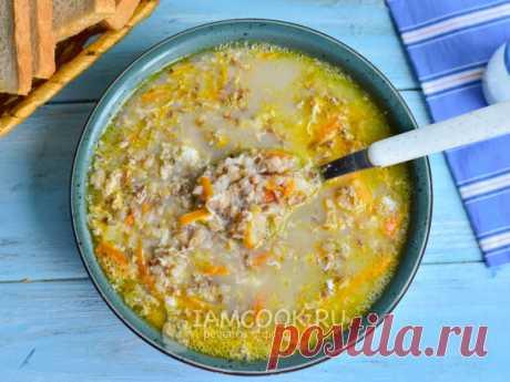 Гречневый суп с яйцом — рецепт с фото Ставим варить гречку. Лук и морковку измельчаем и обжариваем. Добавляем в бульон с гречкой взбитое сырое куриное яйцо, а затем овощи.