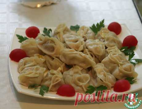 Манты – кулинарный рецепт