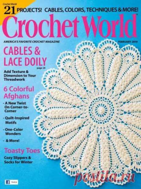 Crochet World February 2019