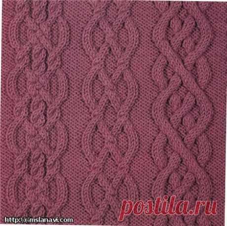 Вязание аранов спицами | Вяжем с Лана Ви