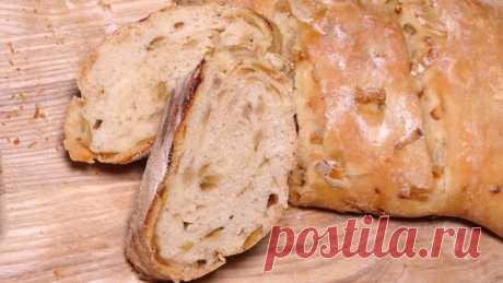 Луковый хлеб – пошаговый рецепт с фотографиями