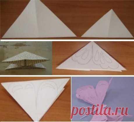 Как сделать бабочку из бумаги: красивые, цветные, объемные, трафарет, схемы, шаблоны для печати и вырезания