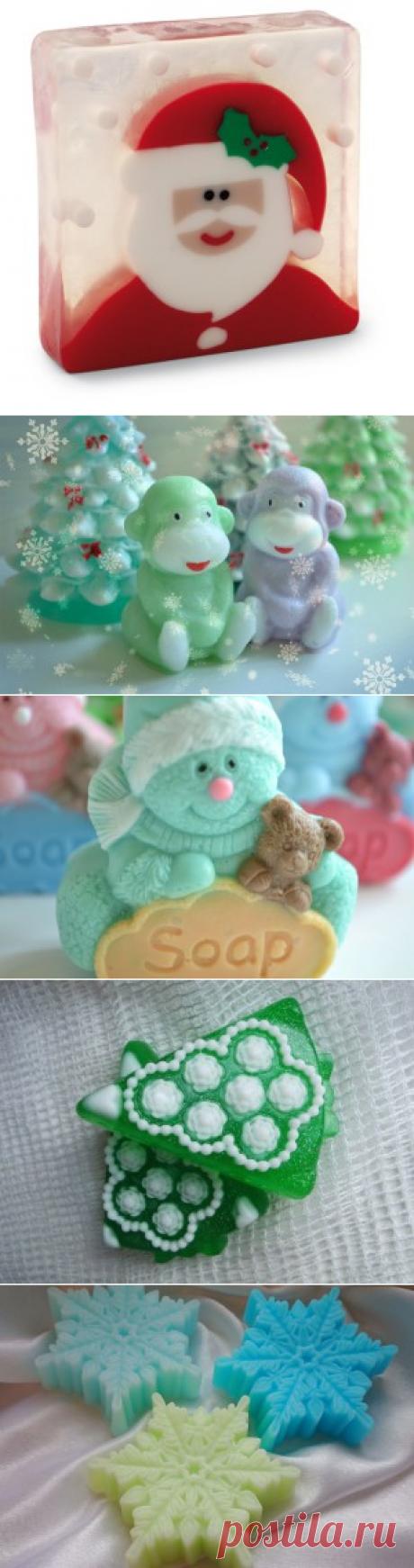 Новогоднее мыло: идеи - Женское хобби