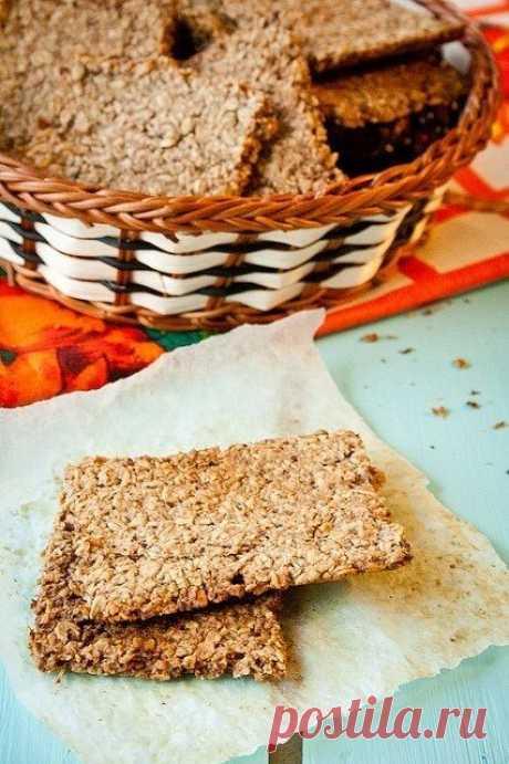 Как приготовить хрустящий овсяный крекер | Четыре вкуса