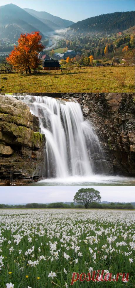 ПРИРОДА КАРПАТ | 20 самых красивых мест - фото и описание