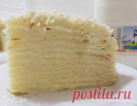 Торт «Наполеон» (с заварным кремом)