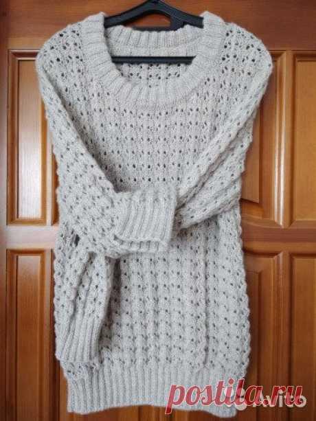 Пуловер (свитер) ручной работы. Вязание на заказ купить в Москве на Avito — Объявления на сайте Авито