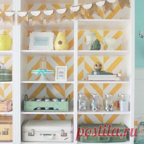 Мебель украшенная обоями — Домашний уют