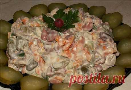 """Гениальный салатик """"Околица"""". Очень вкусно! А все гениальное - просто!"""