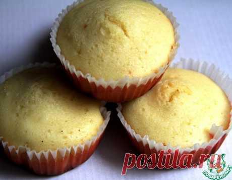 Ванильные кексы на твороге – кулинарный рецепт