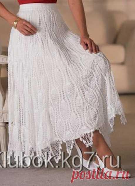Красивые стильные юбки   Клубок