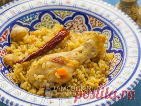 Плов из курицы на сковороде — рецепт с фото Очень вкусный плов может приготовить каждый, даже если у вас нет