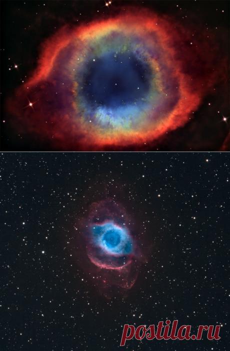 Туманность Улитка: загадка космоса - Путешествуем вместе