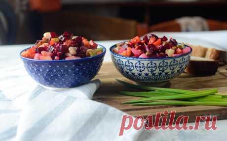 Три секрета идеального винегрета. И новая заправка, которая делает скучный салат праздничным блюдом | Дауншифтеры | Яндекс Дзен