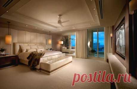 Интерьер спальни в современном стиле