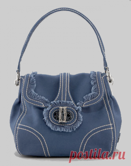 Джинсовые сумки, сшитые своими руками. Практично и модно