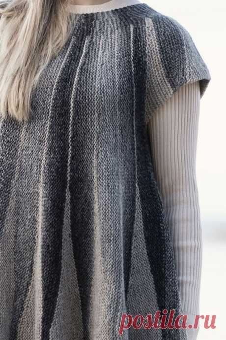 Кардиганы поворотными рядами - swing-knitting - Klubok.ru.com