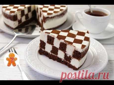 "Торт ""Шахматная Доска"" ✧ Chess Cake"