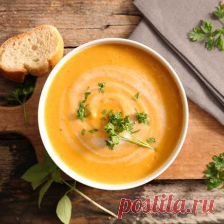 Суп-пюре из моркови - The-Challenger.ru Только у нас — полезные рецепты питательных завтраков, вкусных обедов и легких ужинов! Для тех, кто готов потратить время на что-то особенное, и для тех, у кого на готовку есть всего 10 минут.