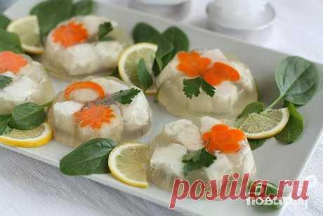 Заливная рыба - пошаговый кулинарный рецепт на Повар.ру