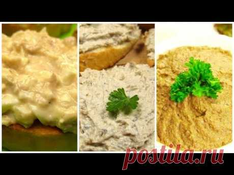 ТОП3 лучших намазок на хлеб. Вкусно и просто!