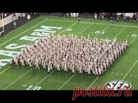 Fantastic Fightin' Texas Aggie Band First Halftime Drill of 2019