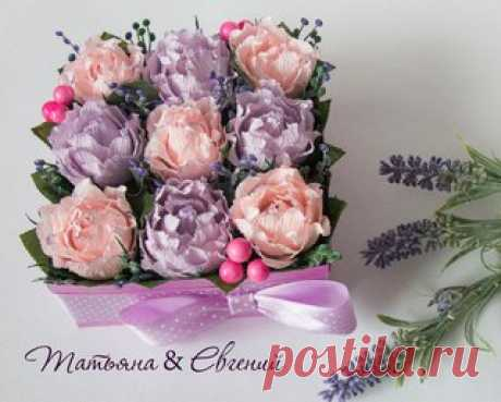 МК Коробочка с розами. автор Татьяна Соляник