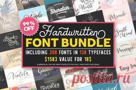 Font Bundle 99%OFF ~ Script Fonts ~ Creative Market