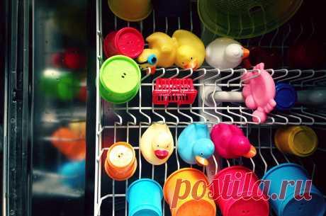 Несколько вещей, которые тоже можно мыть в посудомоечной машине . Тут забавно !!!