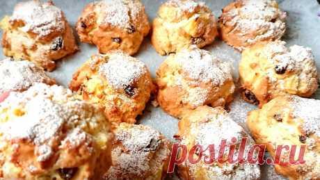 Как начну есть – остановиться не могу (если только прятать): яблочное печенье – быстрый, вкусный десерт. Делюсь рецептом | Академия Вкуса | Яндекс Дзен