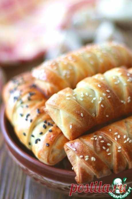 Пирожки на кефире с курицей и грибами – кулинарный рецепт