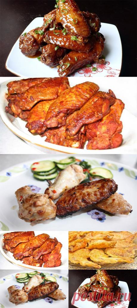 Las alitas sabrosas de gallina — 4 recetas asombrosas